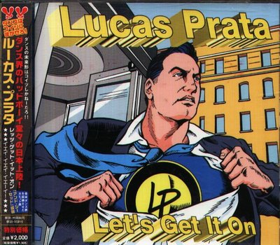 八八 - Lucas Prata - Let's Get It On - 日版 CD+2BONUS