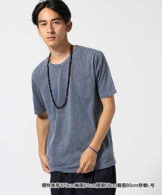 【傑森精品】日本 RAGEBLUE 日式 日系 薄款 全棉 成衣染色 復古 水洗 素面 合身 短袖T恤 Tee 特價