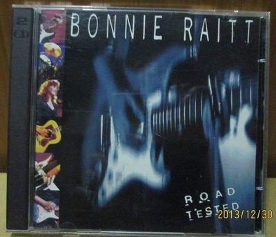 CD(美版進口.片況良好.2張1套)~Bonnie Raitt-Road Tested專輯.收錄Thing Call Love等
