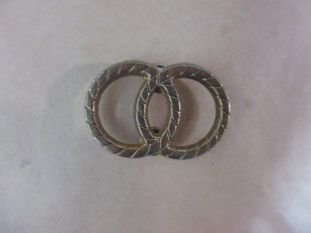 文獻史料館*雙圈紀念章.鐵製(s801-3)
