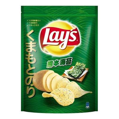 卓佑小舖♥ LAYS 樂事 熊本海苔口味洋芋片 450公克