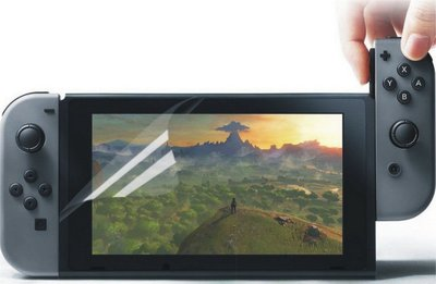 Nintendo 任天堂 Switch 遊戲機 高清 高透視 保護貼 NS 亮膜 貼膜