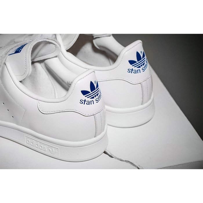 promo code 350f9 bbcc9 Adidas Originals STAN SMITH CF EF 休閒運動魔鬼氈聯名限定