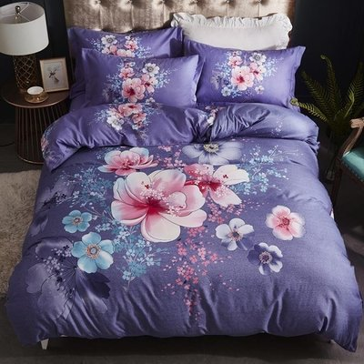 床包組 全棉純棉特價床單被套簡約被罩1.8m床品床上四件套