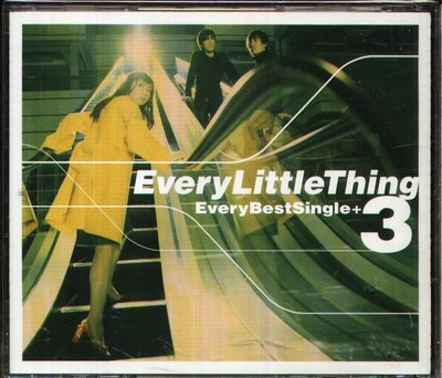 K - Every Little Thing 小事樂團 Every Best Single+3 日版 CD+3BONUS
