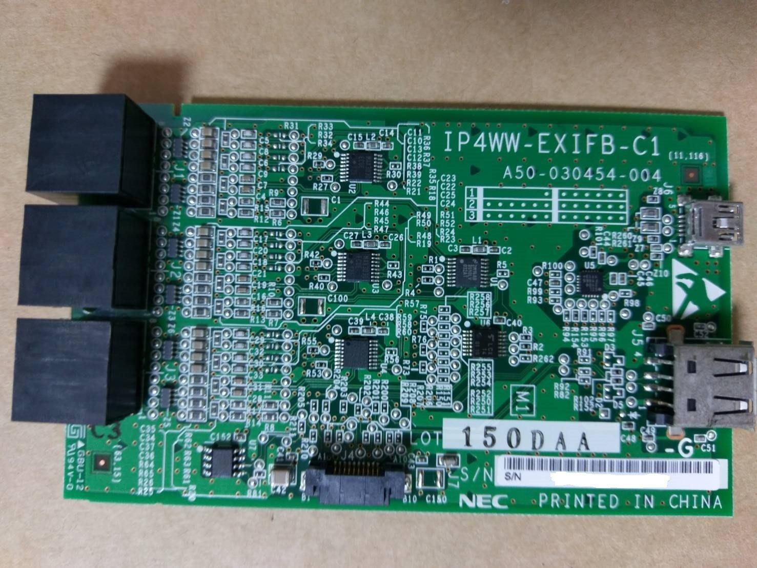 {非新品} NEC SL1000 IP4WW-EXIFB-C1 擴充櫃連接卡~優良總機系統配件~