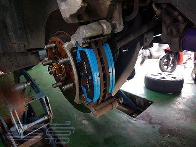 CS 車宮車業 LUXGEN U6 更換 JC BRAKE 前 來令片 煞車皮 凌雲版