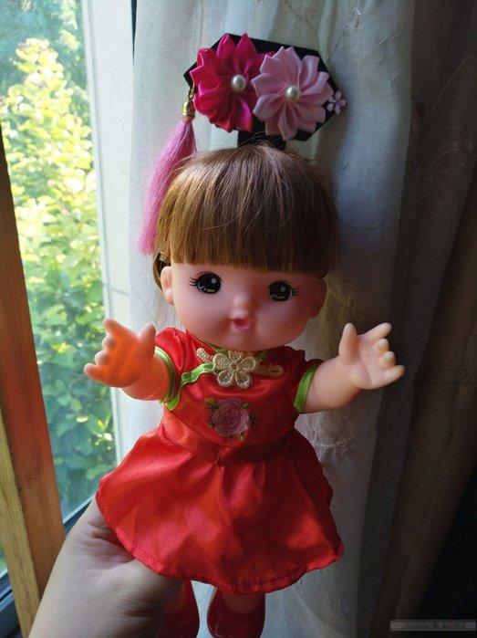 【小黑妞】小美樂30cm以下娃娃配件-萬聖節變裝頭飾-延禧攻略如懿傳~宮廷小主格格頭飾(不含衣服)【現貨顏色隨機】