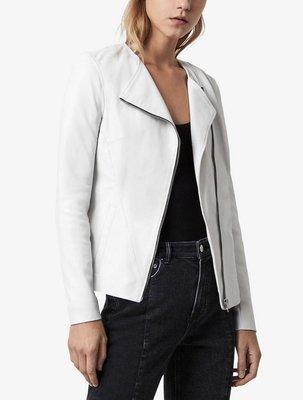Allsaints Fawn leather biker jacket皮衣外套 8碼,原價319英鎊。 100% lamb leather