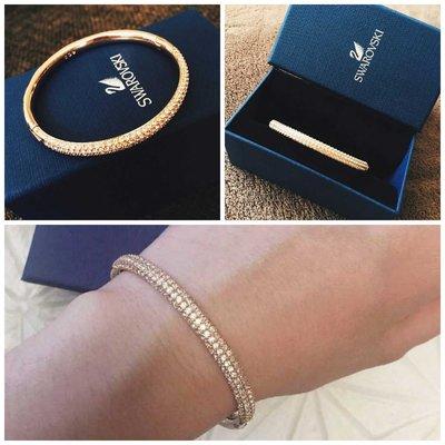 $299- jewelry accessories bangle bracelet Swarovski 經典blingbling 玫瑰金水晶手鐲 手鍊 實拍