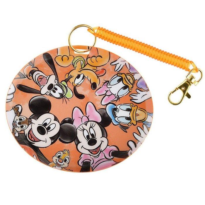 迪士尼DISNEY公主系列《現貨》米奇與朋友們 證件夾/悠遊卡夾/票卡夾~日本正品~心心小舖