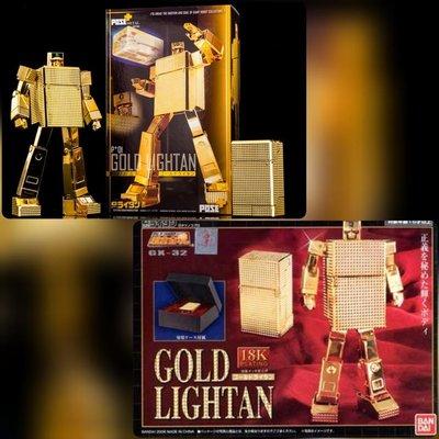 Bandai Soul of Chogokin 超合金魂 GX-32 Gold Lightan 黃金戰士18K & pose+ p+01 黃金戰士