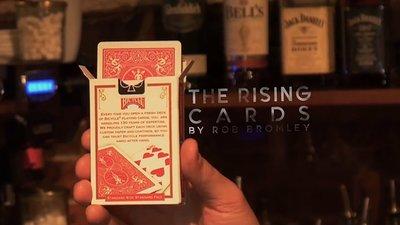 【天天魔法】【S1332】正宗原廠~自動升牌~The Rising Cards by Rob Bromley