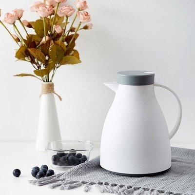 北歐式保溫壺家用按壓式玻璃內膽熱水開水瓶熱水壺暖水壺保溫水壺 極客玩家