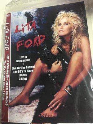 ##非官方DVD  Lita Ford Live 全區