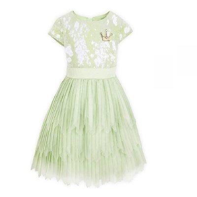 【美國大街】正品.美國迪士尼公主與青蛙蒂安娜衣服 蒂安娜裙子 蒂安娜萬聖節裝