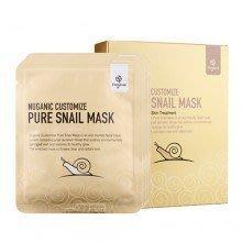 正品 韓國 蝸牛 面膜 NUGANIC CUSTOMIZE Pure Snail Mask 蝸牛面膜 (8片裝)