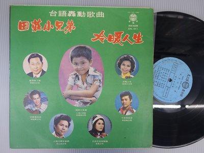 【柯南唱片】台語轟動歌曲//田莊小兄弟 >>LP