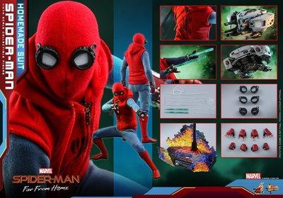 28/8日折扣訂單Hot Toys Spider-Man(Homemade Suit Version) 蜘蛛俠 決戰千里 自製戰衣版