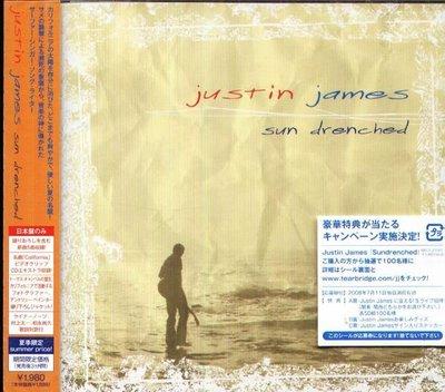 (甲上唱片) Justin James - Sun drenched - 日盤+5BONUS 12Tracks