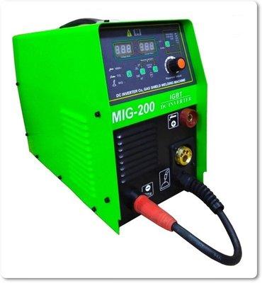 台灣製造【台灣工具】 MIG200 上好牌 電焊機 焊接機 MIG-200 免CO2焊機