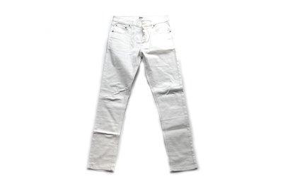 【 PUNX 】PUNX 16SS SKINNY JEANS 合身窄版高磅質感面料彈性褲 (白ML)