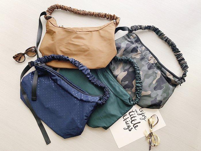 AURA[輕巧出遊防潑水兩用包]-黑/綠/棕/迷彩/點點藍