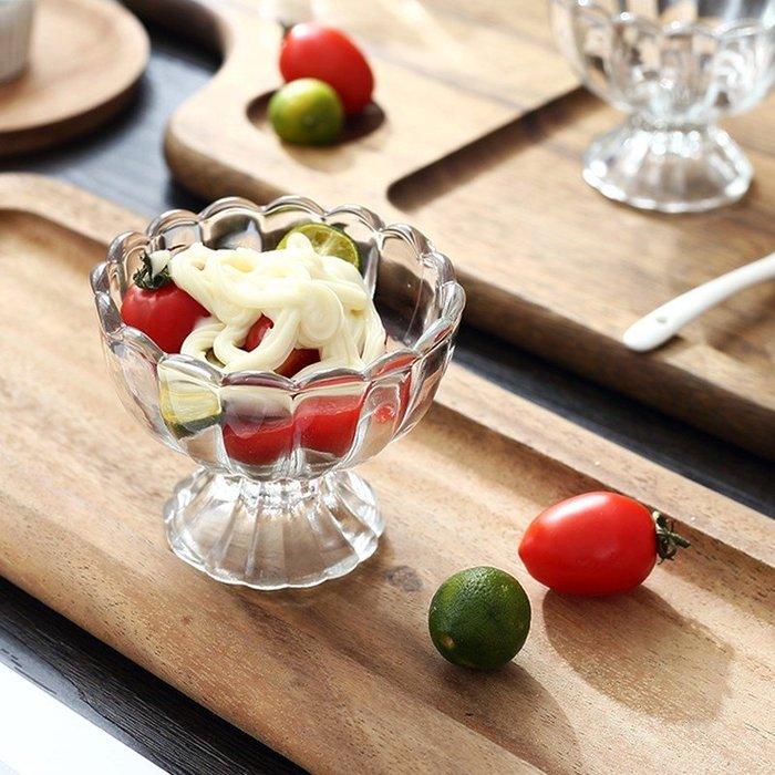 禧禧雜貨店-無鉛甜品飲料冰激凌奶茶玻璃透明奶昔沙拉杯創意家用碗果汁杯水杯#新款
