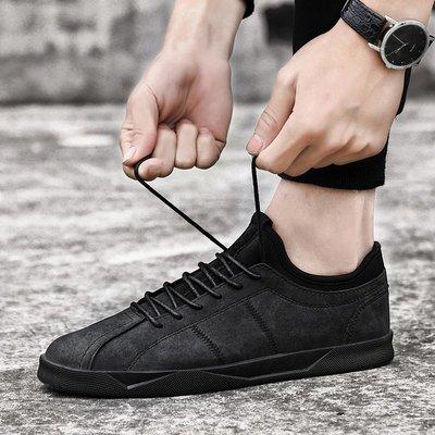 夏季透氣英倫男士運動休閑鞋新款潮流韓版增高板鞋男百搭跑步鞋