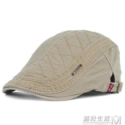 折扣促銷 春夏季新款時尚休閒男女士純棉貝雷帽韓版鴨舌帽前進帽牛仔帽