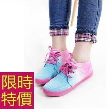 女平底休閒帆布鞋-走秀款明星款簡潔創意女鞋子3色54y45[獨家進口][米蘭精品]