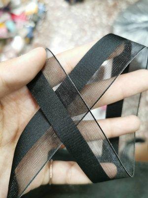 綁乾花束**2.6公分陰陽-紗/秀士緞帶