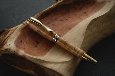 檜木鋼珠筆