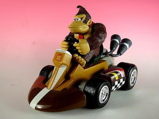 【 金王記拍寶網 】品 M287  SUPER MARIO 大猩猩迴力小賽車 罕見稀少~(((瑪莉歐公仔賣場)))