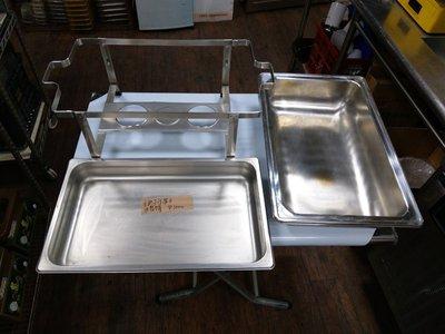 達慶餐飲設備八里二手倉庫 二手設備 酒精式自助餐保溫台(缺蓋)