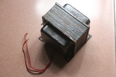 真空管擴大機用電源抗流電感(低通濾波器)  (Choke)  4.9.kg