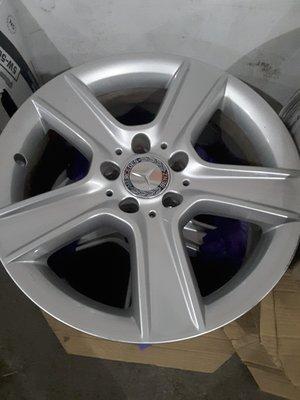 Benz w204 C300 德國賓士原廠鋁圈 前後配鋁圈 R17 前 J7.5 後 J 8.5 (方程式國際)