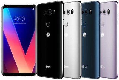 (金鵬)全新 LG V30+ 雙卡  (128gb.$2080) 黑/銀/藍/紫