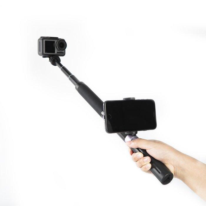 @神奇小铺PGY OSMO ACTION POCKET手持支架三腳架靈眸口袋云臺相機自拍桿自拍神器