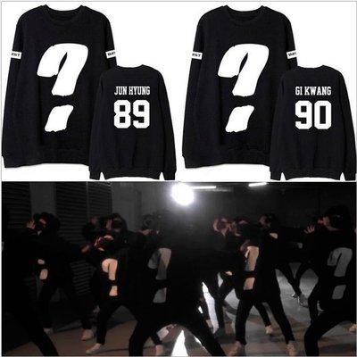 [星萌][預購]  K285  BEAST衣服專輯GUESS WHO MV同款衛衣外套龍俊亨張賢勝應援打歌服