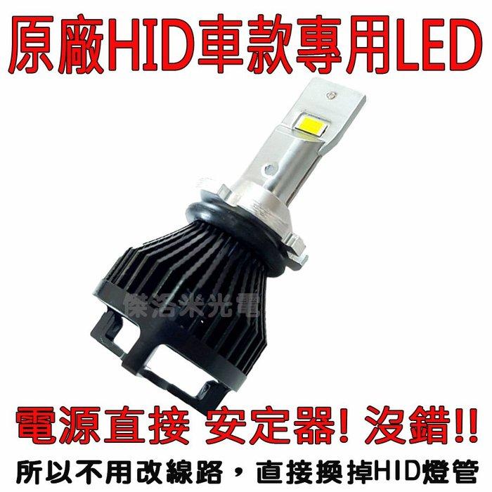 年終85折回饋! 直接替換HID燈管免改電路~傑洛米光電 H-LED 9000LM 超高亮度【D1/D2/D3/D4】