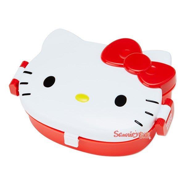 東京家族 kitty 大臉造型 便當盒
