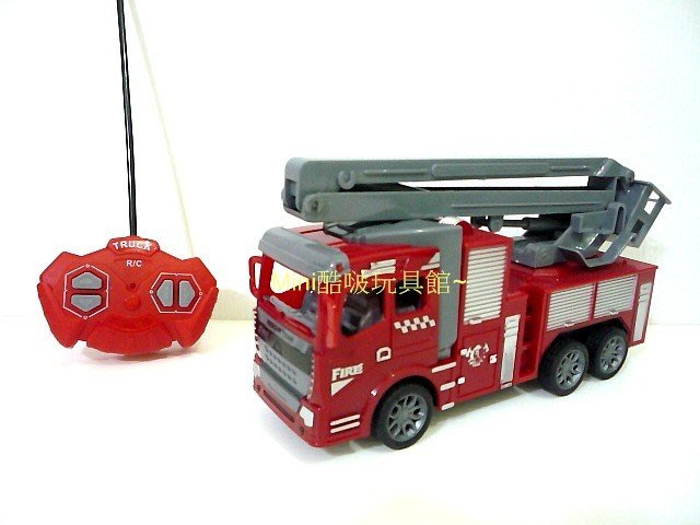 1/16 1:16 仿真外型遙控消防雲梯車-遙控車-消防車