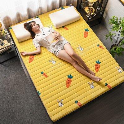 床墊 加厚榻榻米床墊軟墊宿舍單人學生上下鋪折疊家用牛奶絨墊被子0.9小尺寸價格 中大號議價