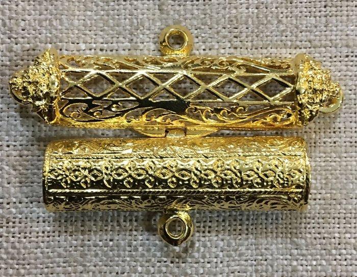 如是P572三環鍍金符管盒(長條形)