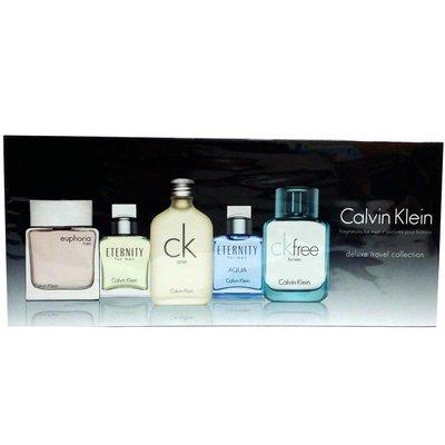 《尋香小站 》 Calvin Klein Deluxe Miniature Collection 男用 5 入小香組合