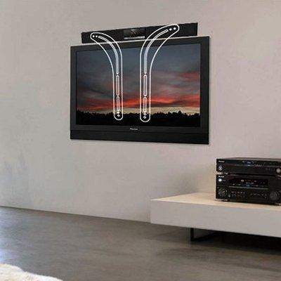 新品音響架子支架壁掛通用無需打孔小米音箱掛架電視機回音壁soundbar壹號