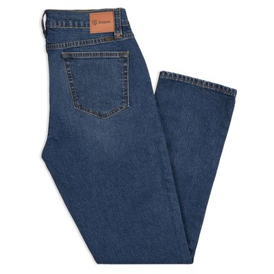Brixton - RESERVE 5-POCKET DENIM PANT WORN INDIGO 長褲 現貨販售