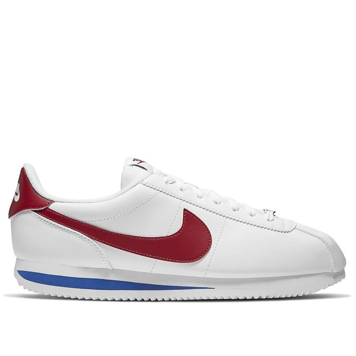 【A-KAY0】NIKE CORTEZ BASIC LEATHER WHITE RED 白紅藍【819719-103】