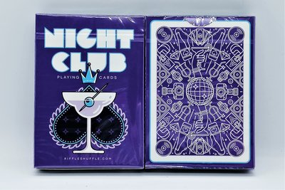 【USPCC撲克】Nightclub UV 紫 Edition Playing Cards S103050393